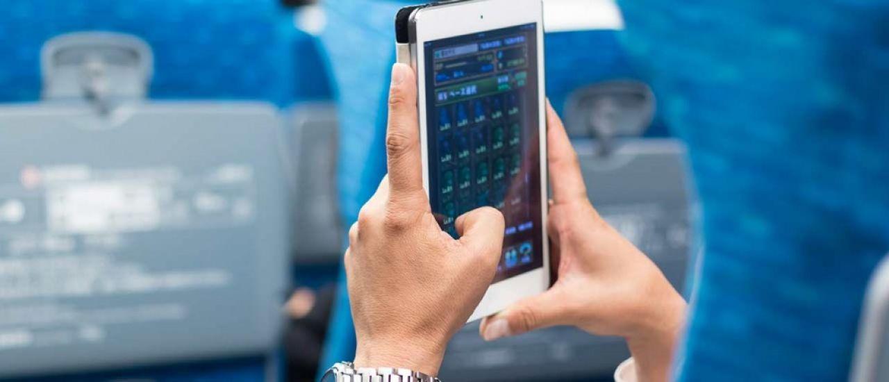 WiFi dans les avions : rester connecté en plein vol