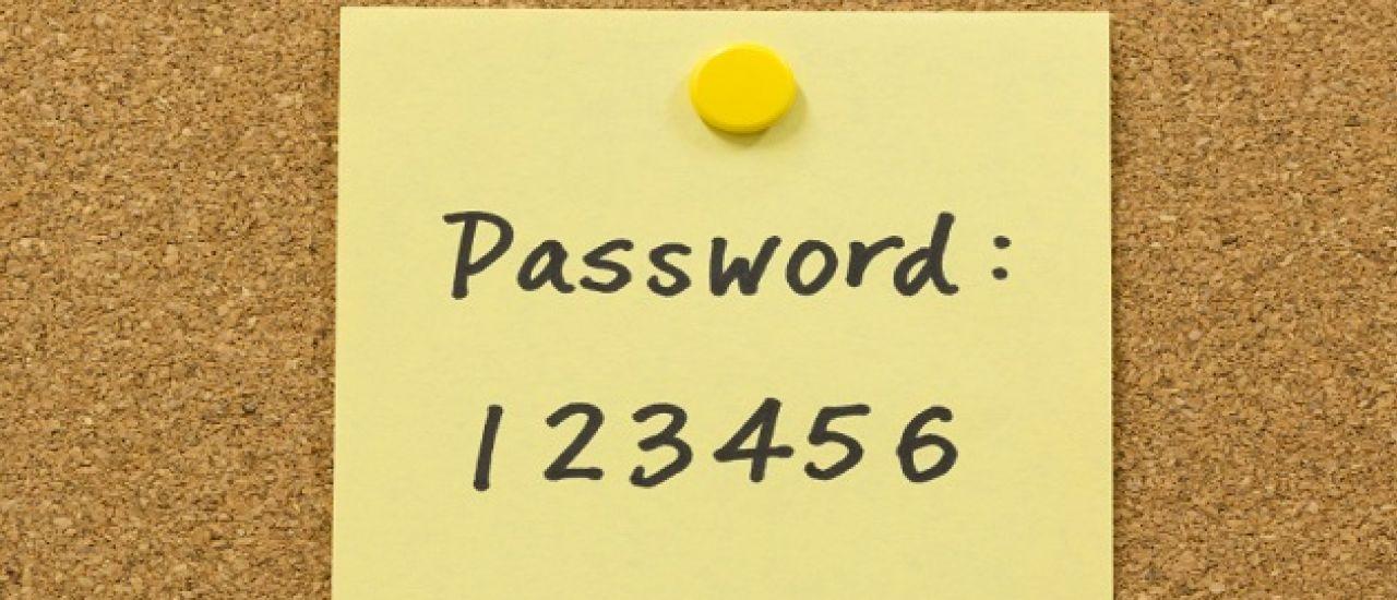 Le mot de passe dépassé ?