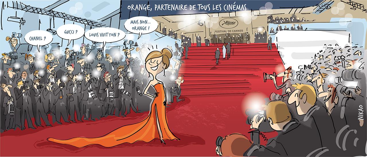Vivez toutes les émotions du cinéma avec Orange