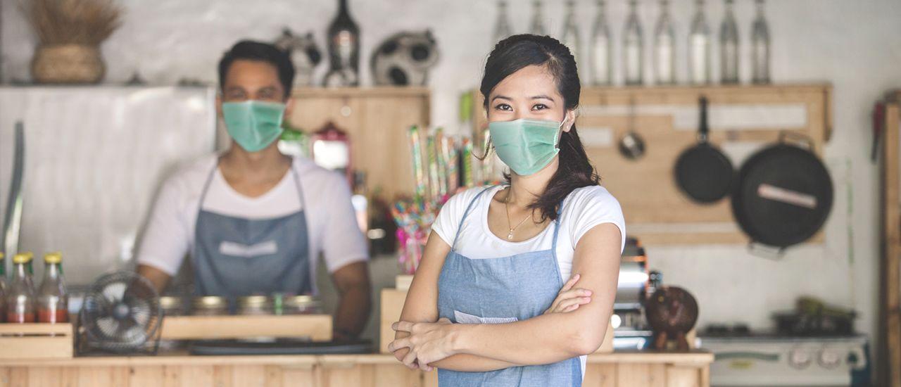 La subvention de l'Assurance maladie pour aider les entreprises à faire face au Covid-19