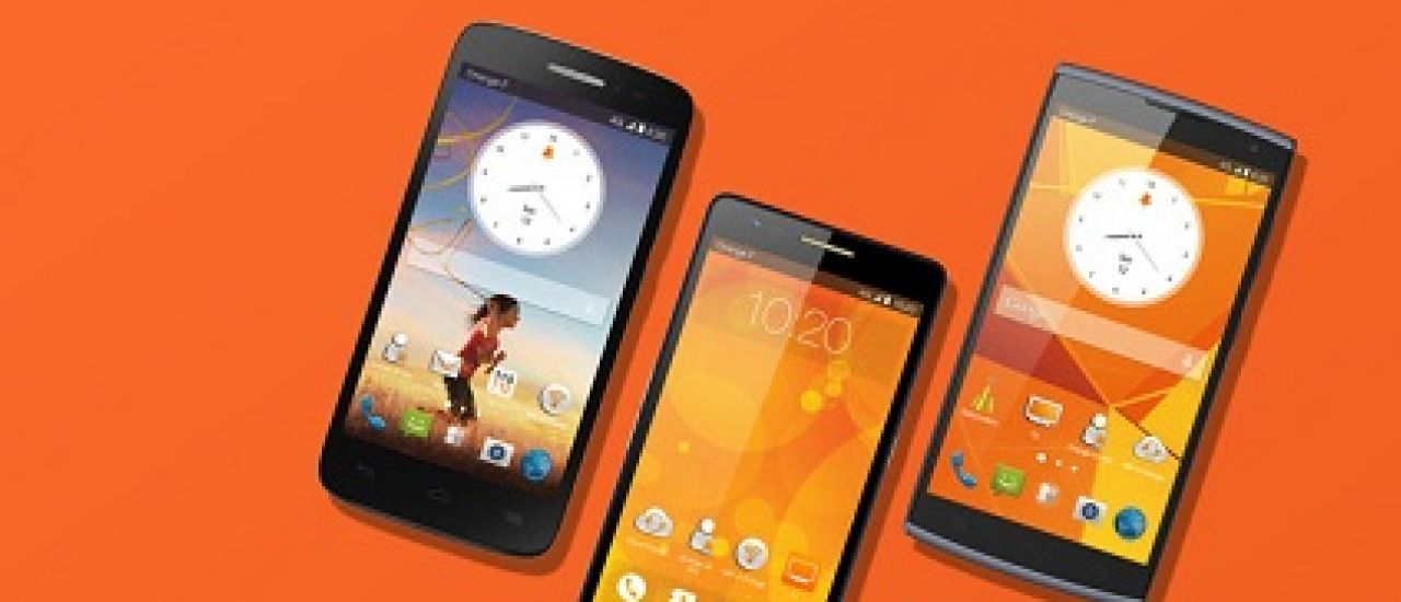Fova, Roya et Nura, les smartphones by Orange