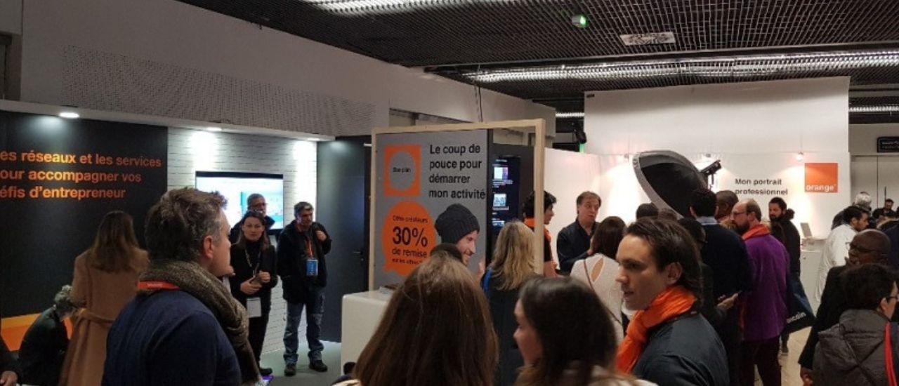 Orange au Salon Des Entrepreneurs : 2 jours pour accélérer vos projets !