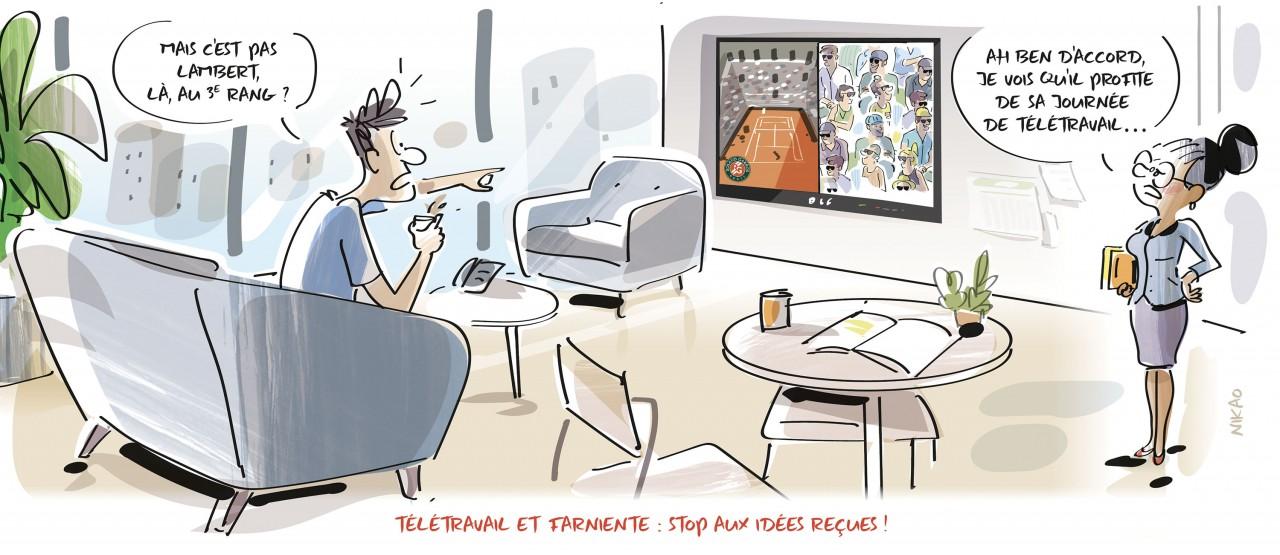 Télétravail : un juste équilibre entre autonomie et contrôle