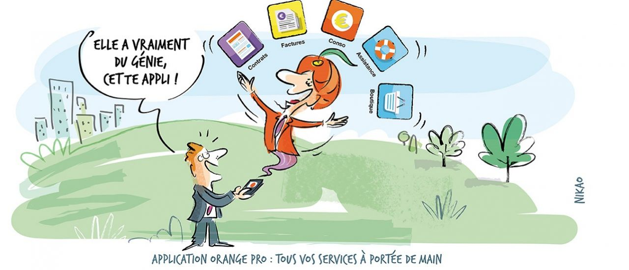 Application Orange Pro : tous vos services à portée de main