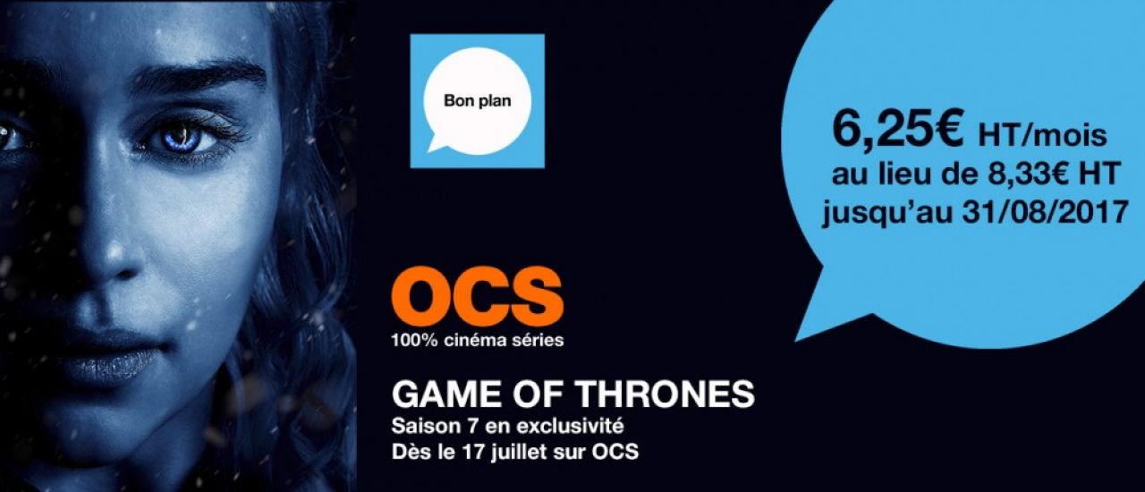 Game of Thrones Saison 7 : le 17 juillet en exclusivité sur OCS