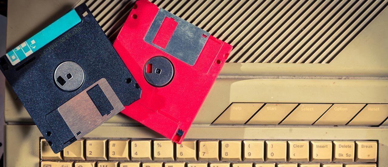 Recyclez vos anciennes disquettes !