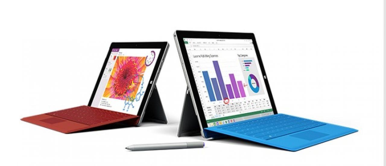 Surface 3 4G : bien plus qu'une tablette