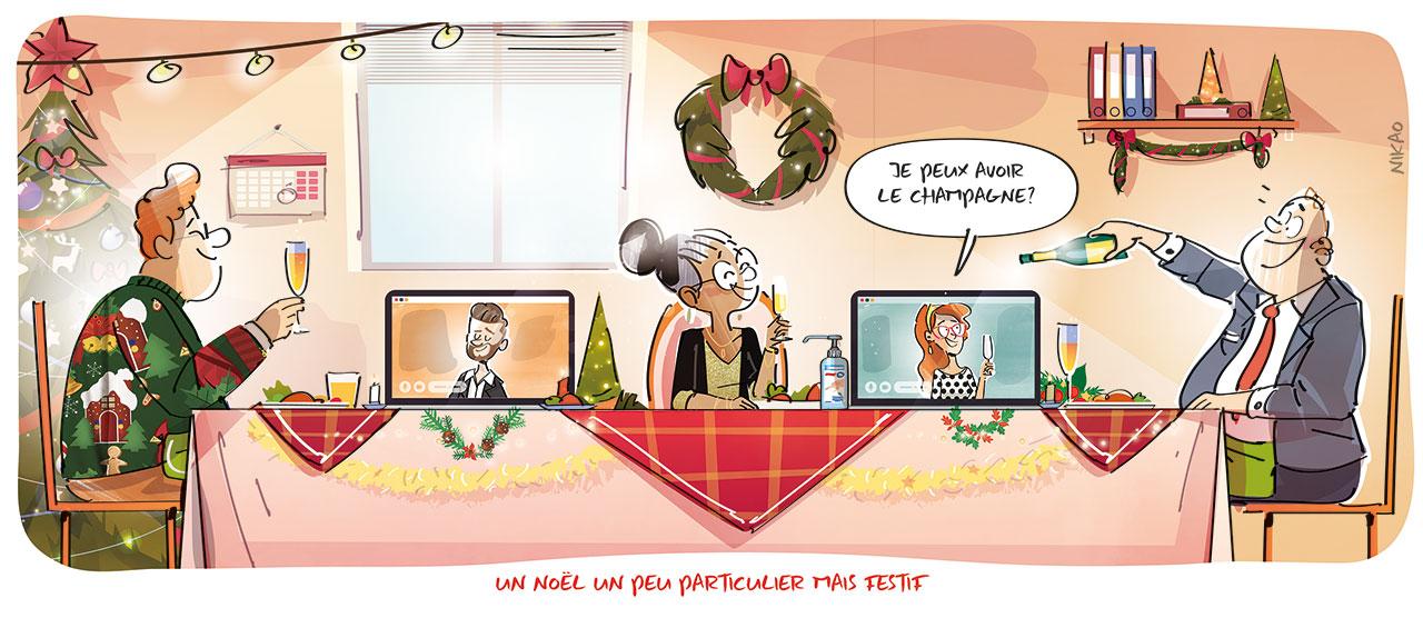 Les équipes Orange Pro vous souhaitent un joyeux Noël