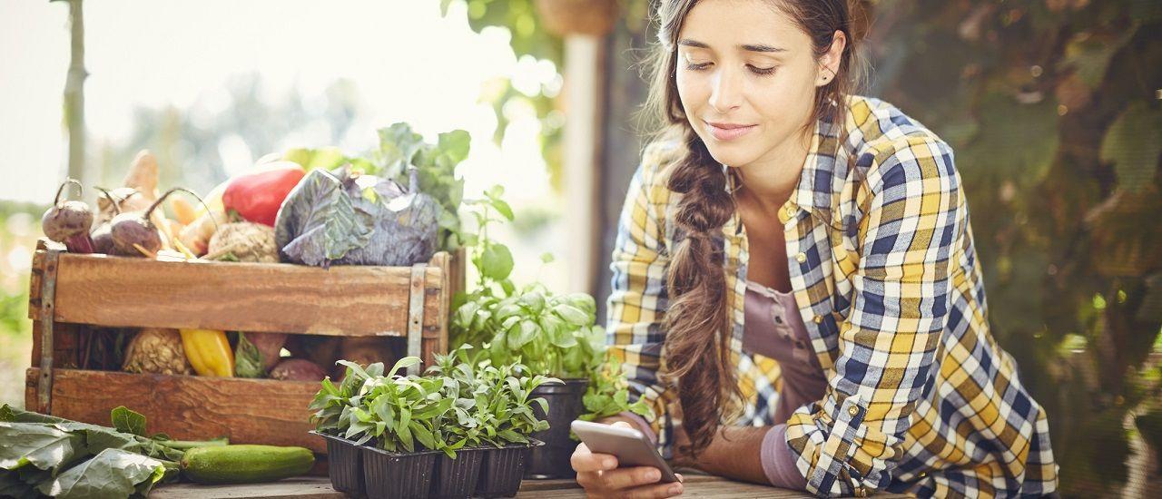 Des applications pour jardiner