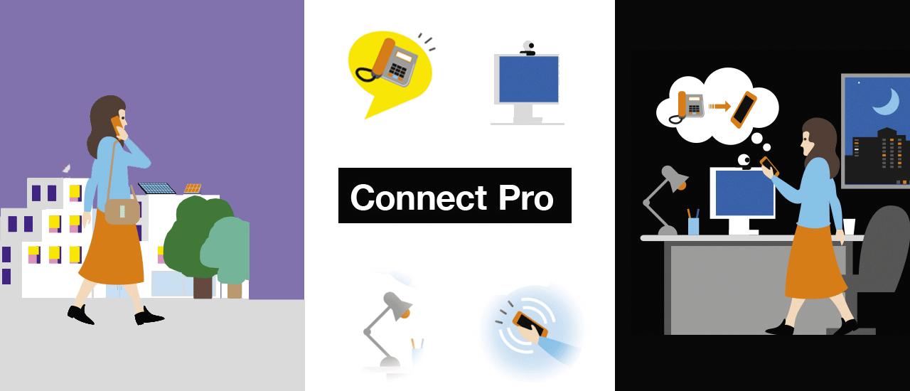 [Infographie] Une journée type avec Connect Pro