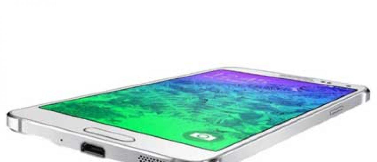 Samsung Galaxy Alpha : élégant et performant