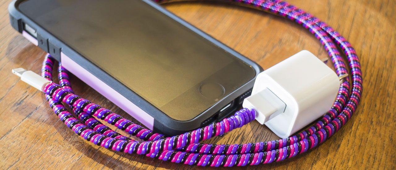 4 astuces pour décorer votre chargeur de smartphone