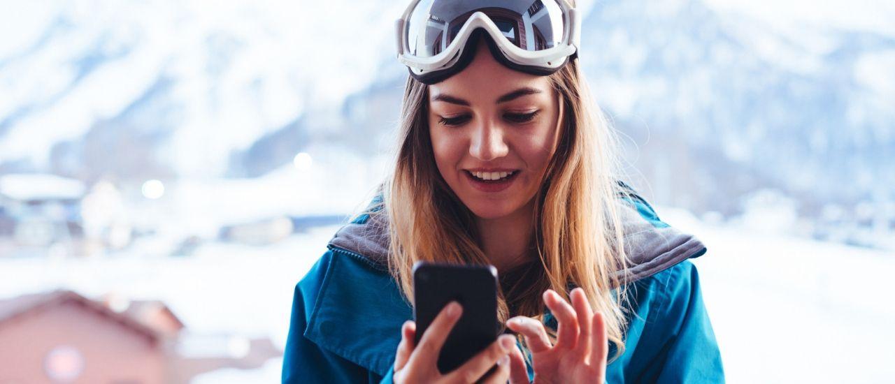 Skiez connecté grâce à ces applications !