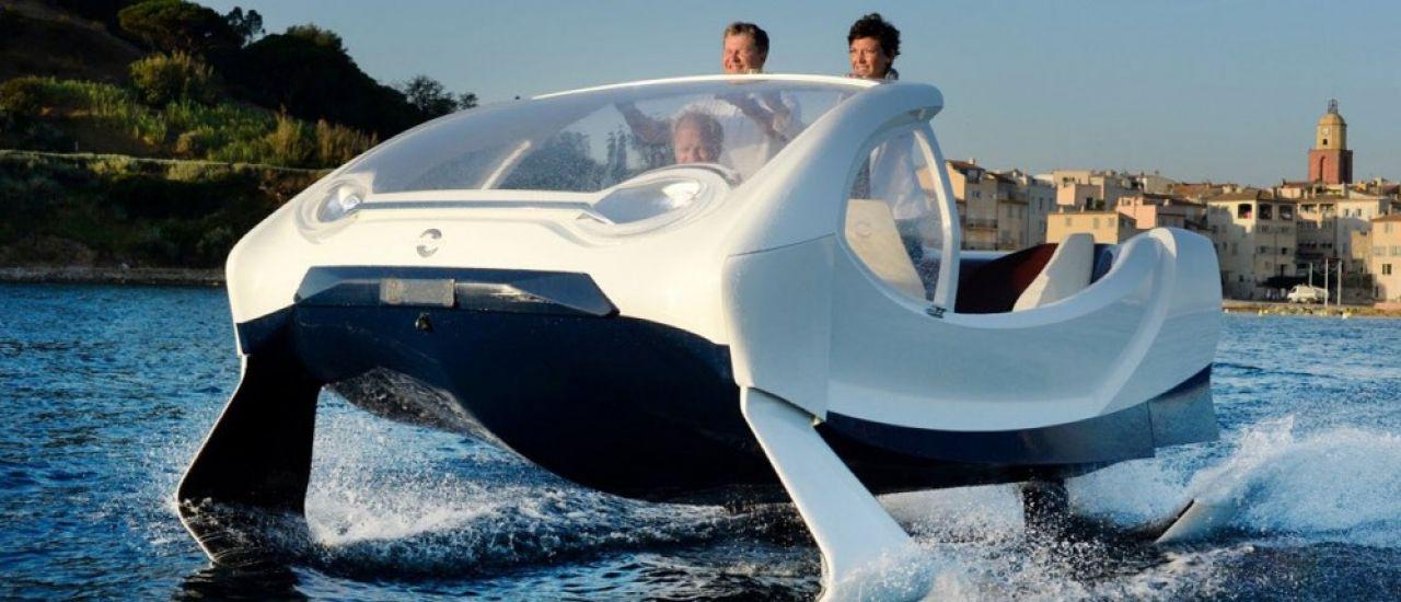 Lyon accueille Seabubbles, le bateau-taxi volant