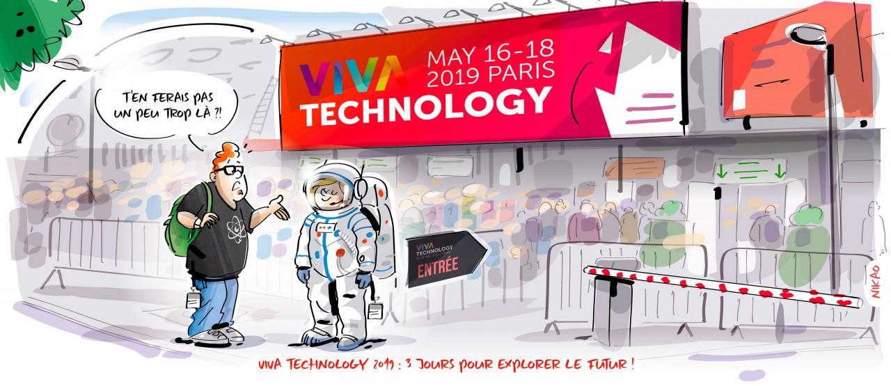 Viva Technology 2019 : 3 journées pour explorer le futur