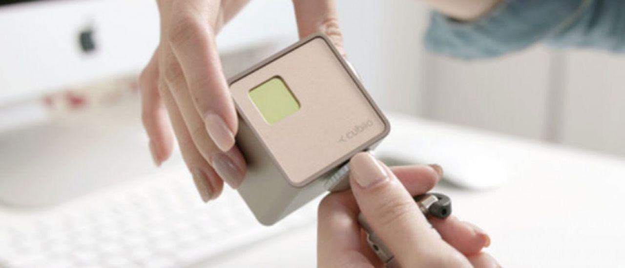 Cubiio, un graveur laser de poche connecté aux multiples potentiels