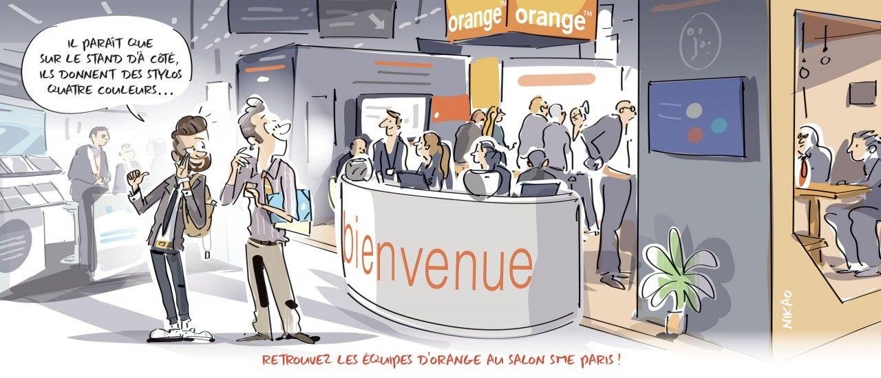 Orange vous donne rendez-vous à la 21ème édition du Salon SME