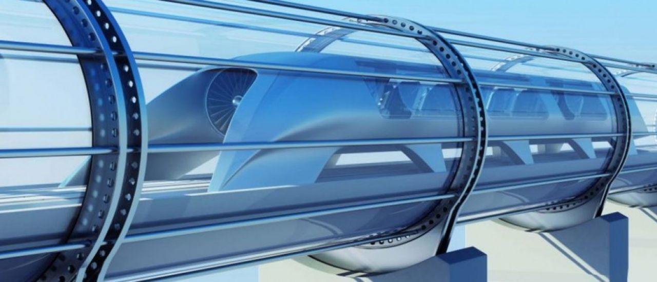 Que diriez-vous d'un voyage à bord de l'Hyperloop ?