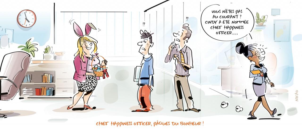 Chief happiness officer : un job qui nage dans le bonheur ?