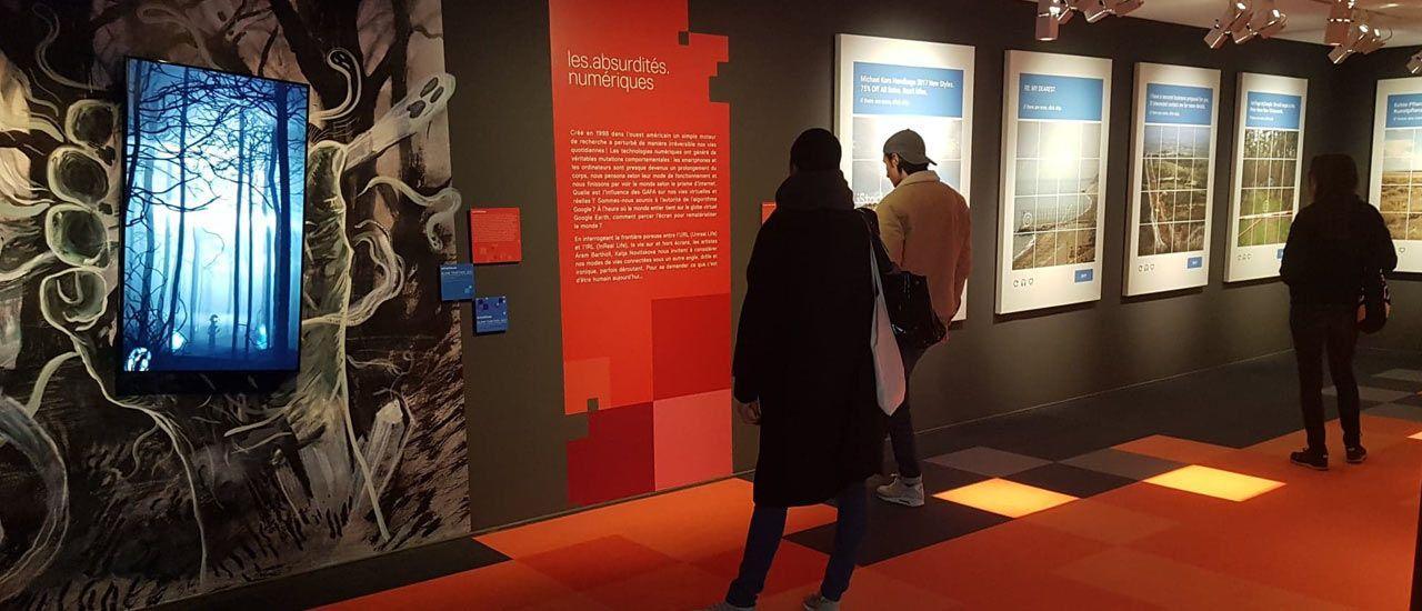 Les artistes s'expriment à l'exposition de La Belle Vie Numérique