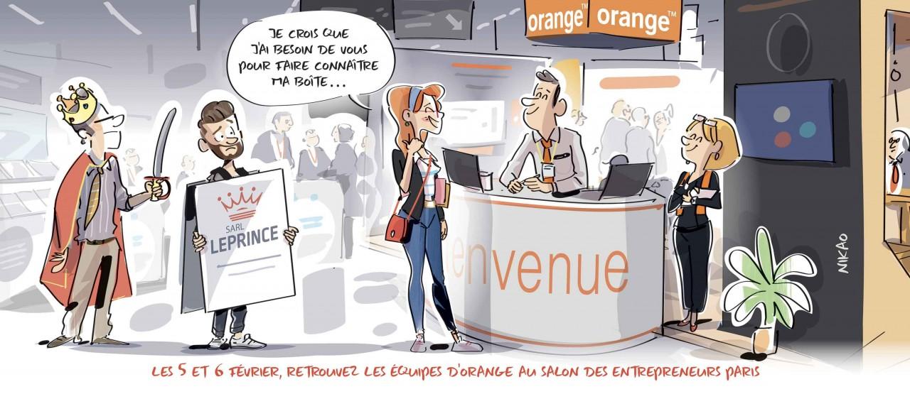 Besoin de conseils ? Venez à la rencontre de nos équipes Orange au SDE 2020
