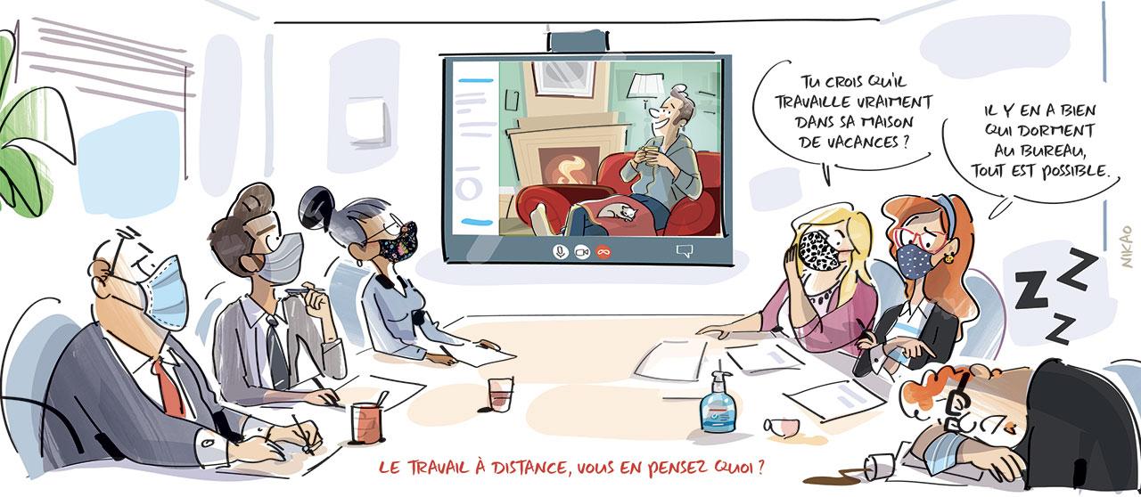 Démocratisation du télétravail : aubaine pour les collaborateurs ou frein à la productivité ?