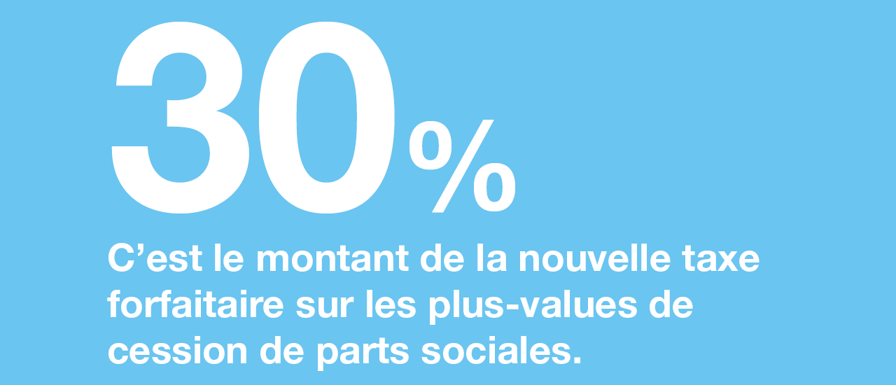 Cession de parts sociales : quelle imposition des plus-values ?
