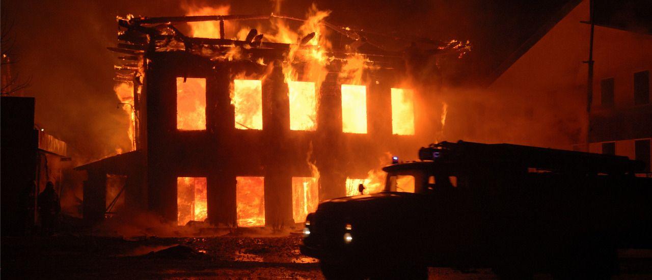 Incendie et destruction d'un local commercial : quid du bail ?