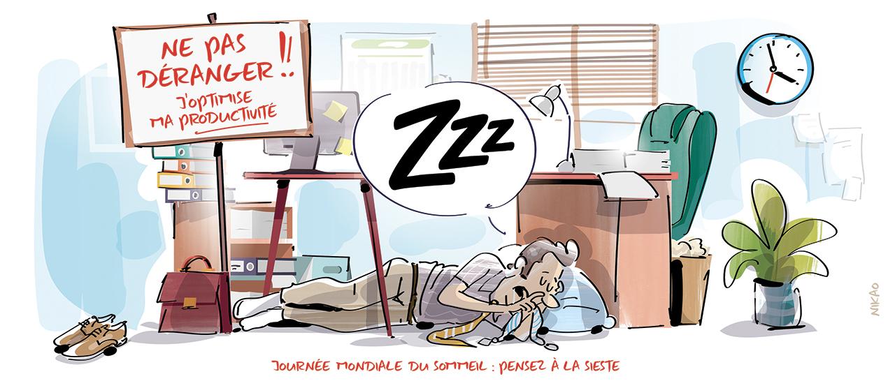 La sieste en entreprise : nouvelle clé de la productivité !