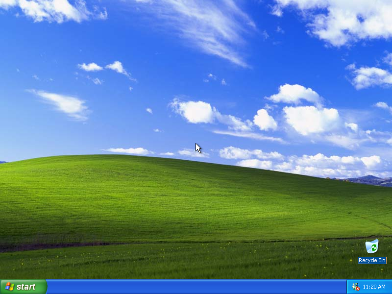 windows xp fond d'écran