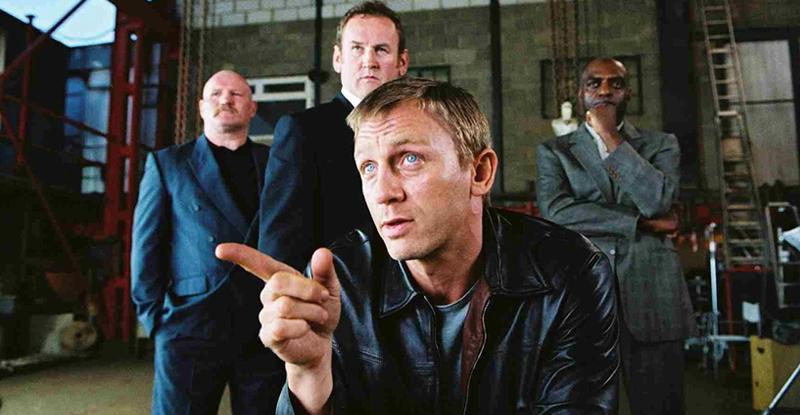Soirée Daniel Craig